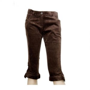 American Rag Women's Corduroy Three Quarter Brown