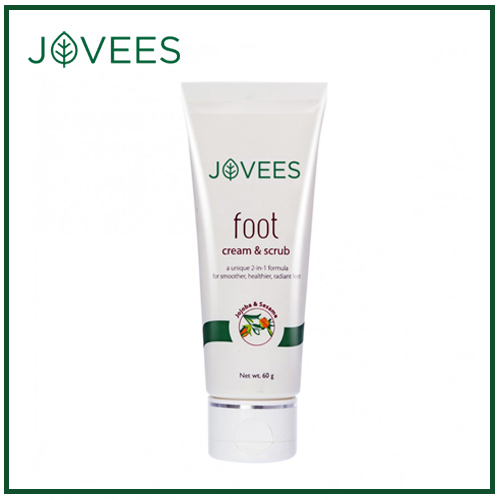 Jovees Foot Cream and Scrub -50g