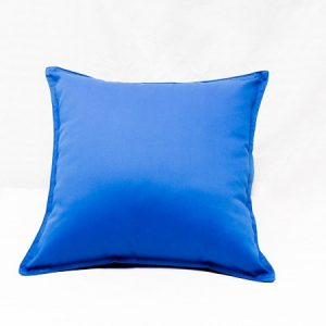 Washable Soft Cushion Blue